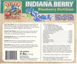 Fertilizer - Blueberry - 4# bag